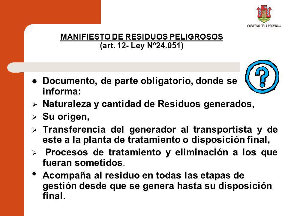 MANIFIESTO DE GENERADORES MÚLTIPLES MANIFIESTO SIMPLE MANIFIESTO SIMPLE TIPOS DE MANIFIESTOS PAGINA WEB SE AUTORIZA EN EL REGISTRO