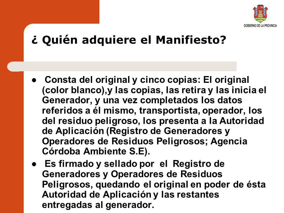 CREDENCIAL PARA TRANSPORTISTAS TRANSPORTE DE RESIDUOS PELIGROSOS - LEY 8973 DEC.