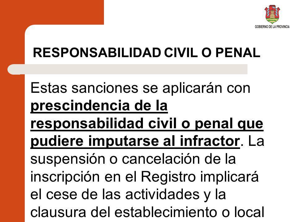 SUMARIO ADMINISTRATIVO Las sanciones se aplicarán, previo sumario que asegure el derecho de defensa, y se graduarán de acuerdo con la naturaleza de la infracción y el daño ocasionado.