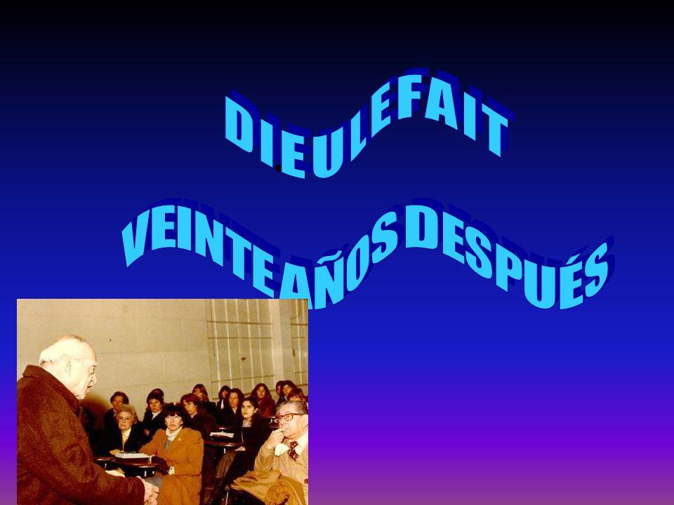 TRAYECTORIA En su vasta trayecoria en el campo de la estadística, he aquí algunos antecedentes de Dieulefait que avalan la intención de este homenaje.