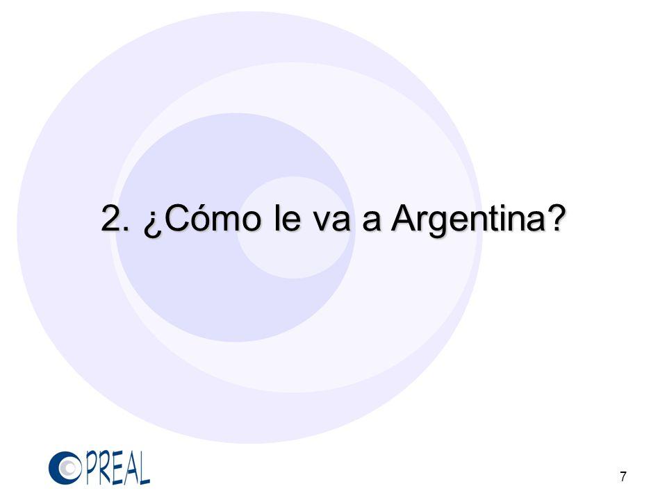 El rendimiento académico en Argentina es bajo 8