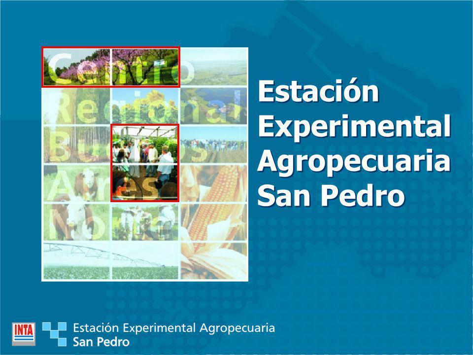 Estación Experimental Agropecuaria San Pedro Estación Experimental Agropecuaria San Pedro
