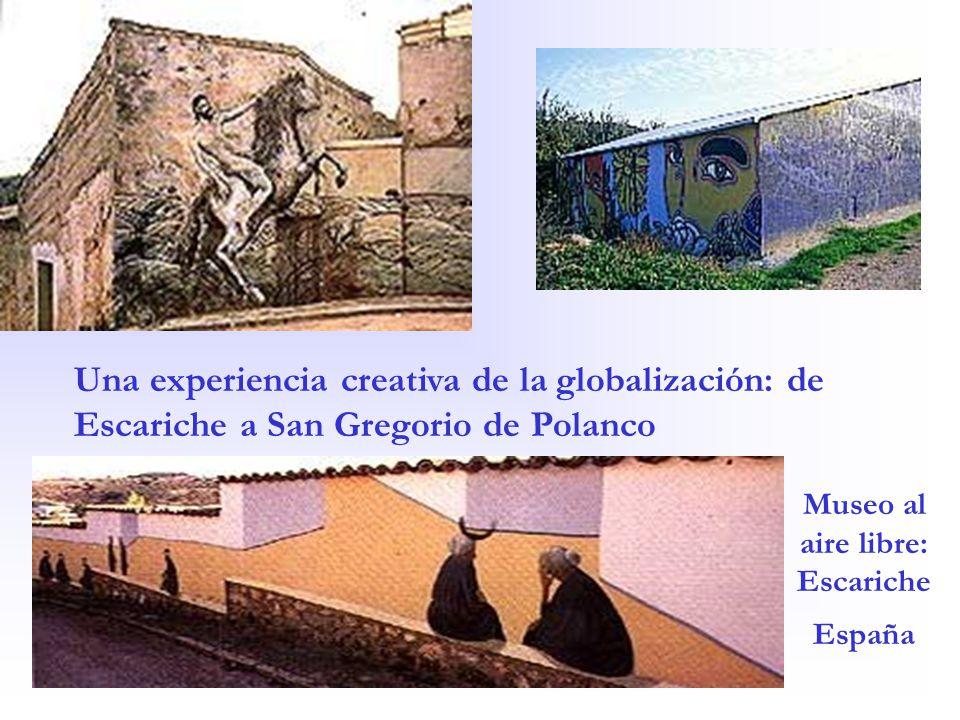 Museo al aire libre: Escariche España Una experiencia creativa de la globalización: de Escariche a San Gregorio de Polanco
