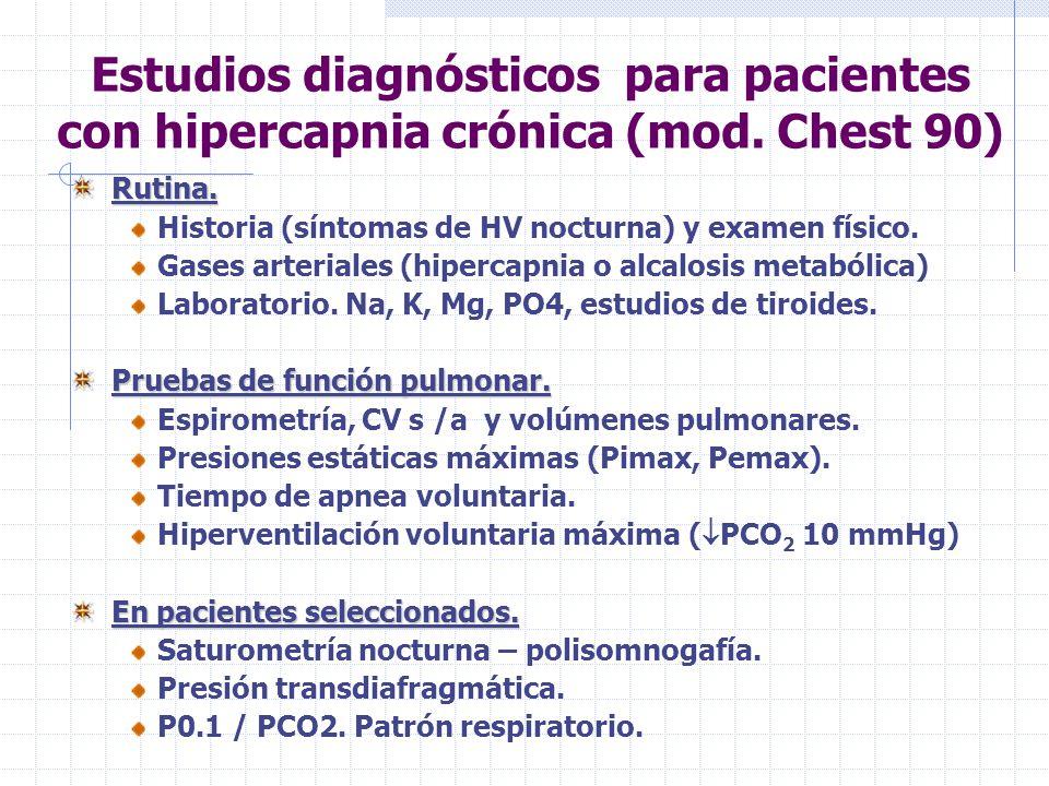 Estudios diagnósticos para pacientes con hipercapnia crónica (mod.