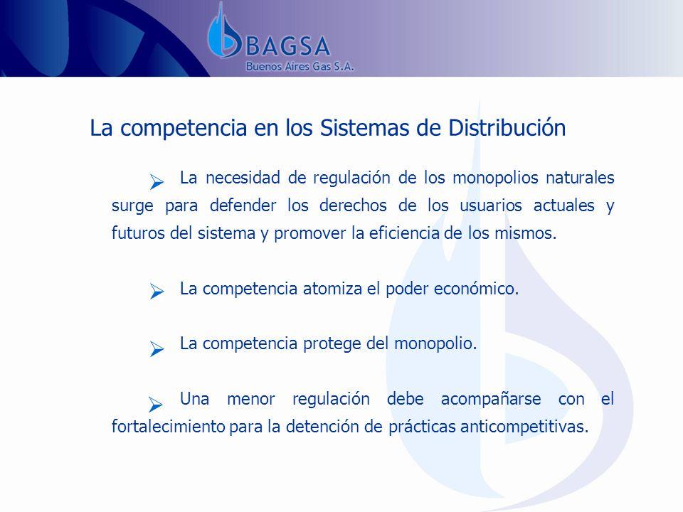 La competencia en los Sistemas de Distribución...