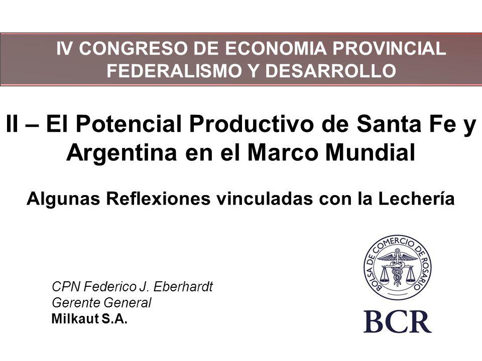 Exportaciones lácteas Argentinas