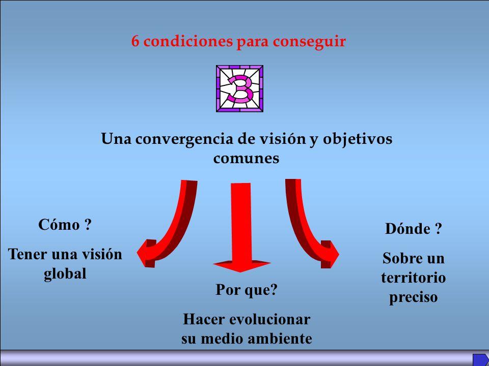 Una convergencia de visión y objetivos comunes 6 condiciones para conseguir Cómo .