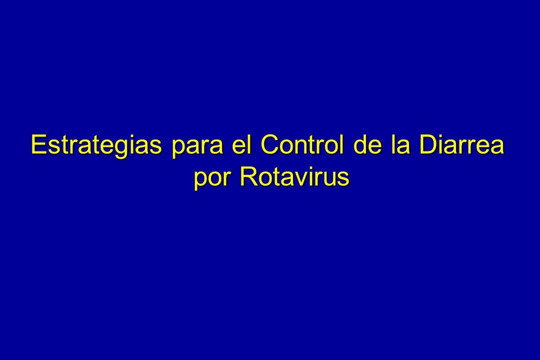 Estrategias para el Control de la Diarrea por Rotavirus