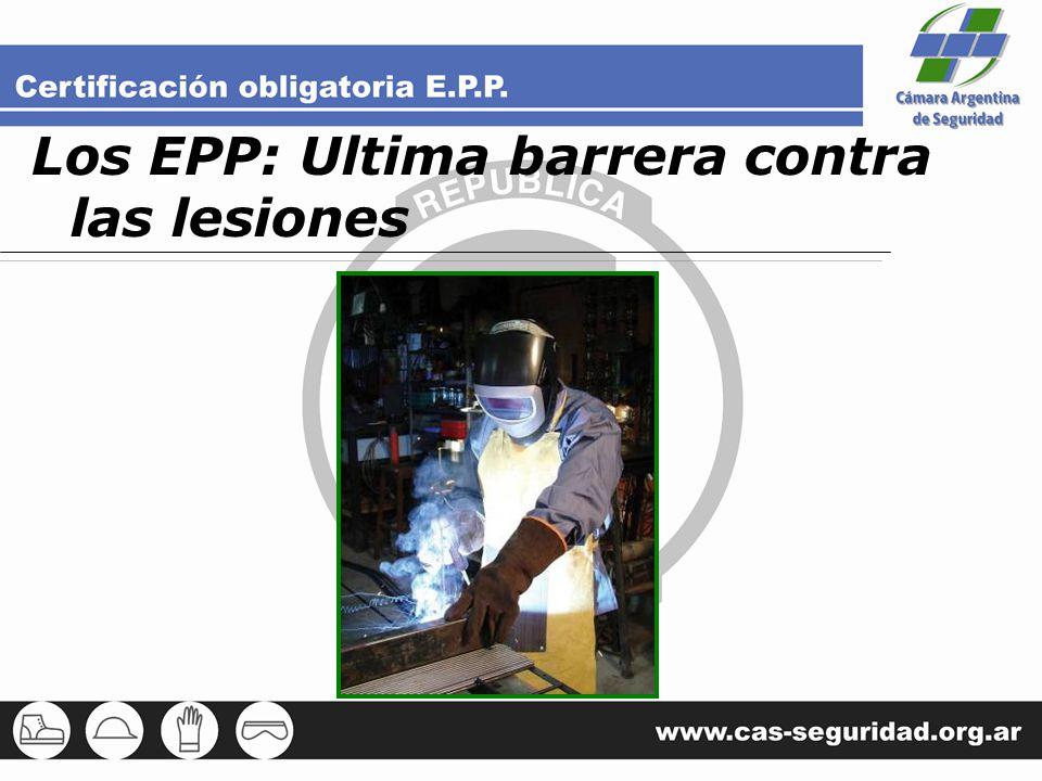 Los EPP: Ultima barrera contra las lesiones