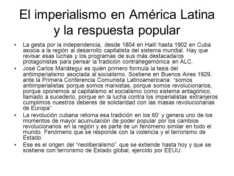 Sobre el imperialismo Es una etapa del capitalismo, donde dominan los monopolios.