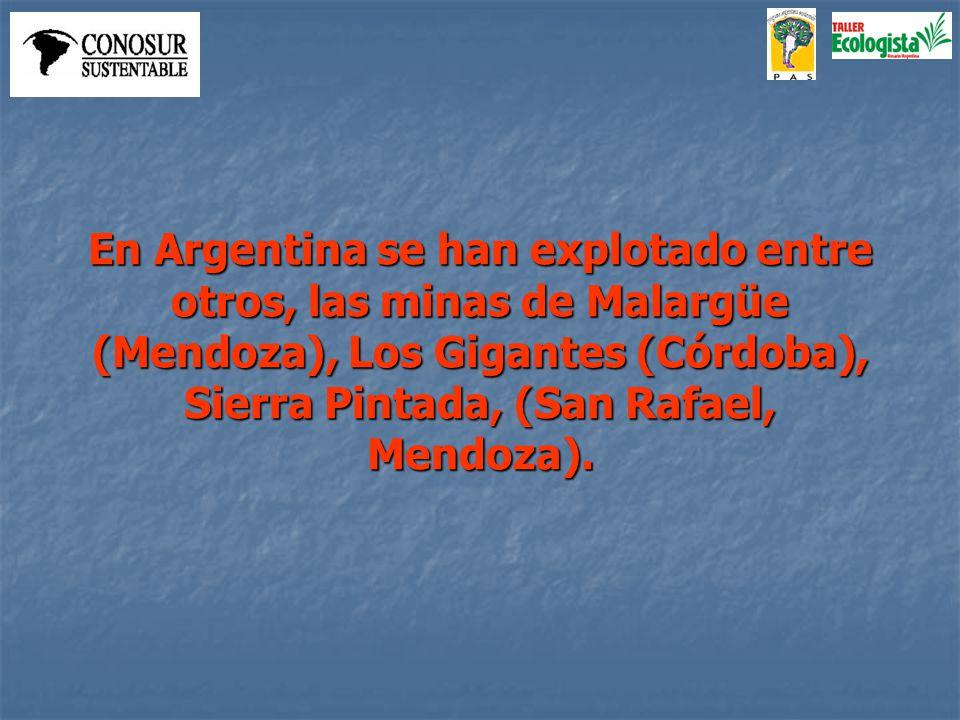 Dentro del resurgimiento del Plan Nuclear en Argentina, se planea reabrir esta última explotación.