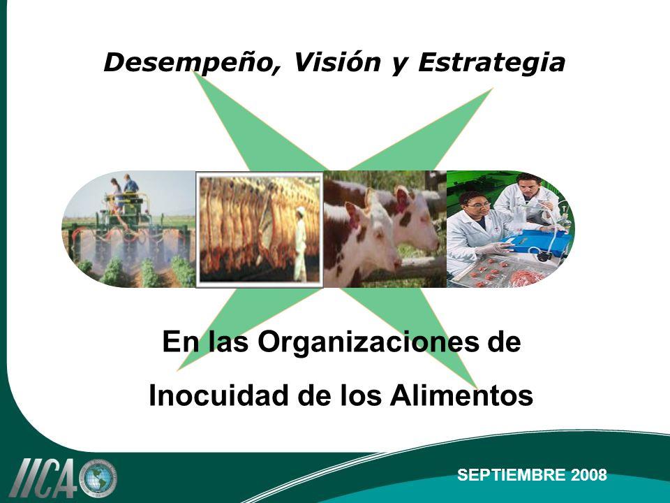 Desempeño, Visión y Estrategia En las Organizaciones de Inocuidad de los Alimentos SEPTIEMBRE 2008