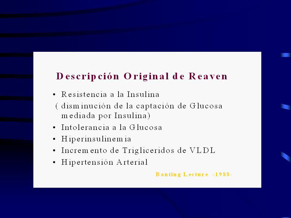 NCEP-ATP III CRITERIA CUALQUIER COMBINACIÓN DE 3 ó + DE LOS SIGUIENTES DETERMINANTES DE RIESGO.
