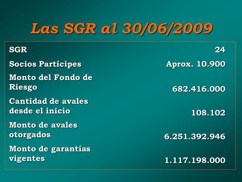 SGR24 Socios Partícipes Aprox.