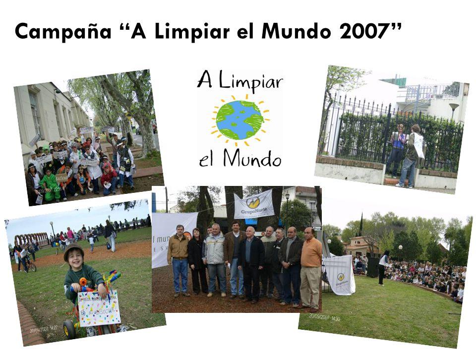 Campaña A Limpiar el Mundo 2007