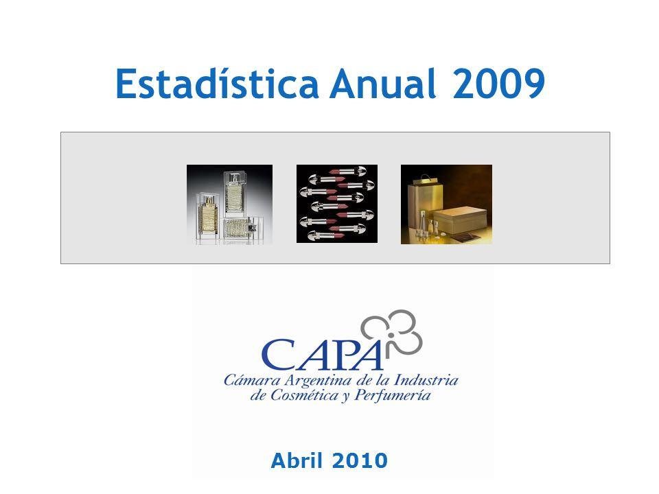 Estadística Anual 2009 Abril 2010