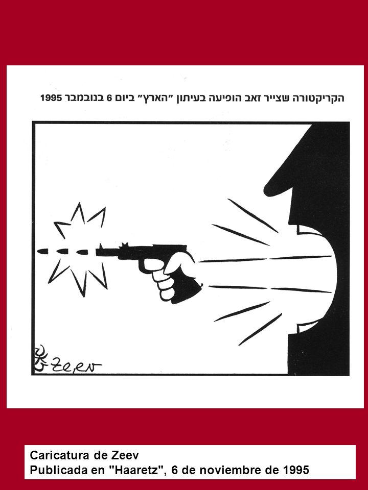 Caricatura de Zeev Publicada en