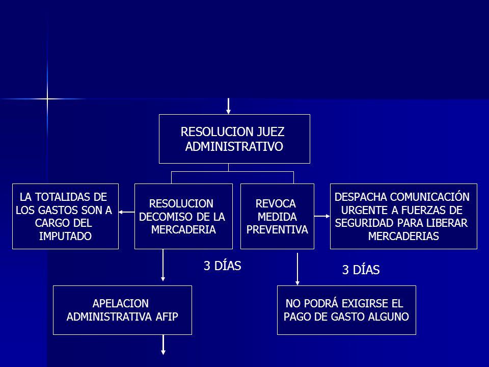 APELACION ADMINISTRATIVA AFIP CONFIRMA SANCION RECURSO JPT JF ELEVACION JUEZ COMPETENTE RESOLUCION JUDICIAL APELACION CNPE 3 DÍAS 24 HS RESOLUCION AFIP REVOCA SANCION EFECTIVO SUSPENSIVO EFECTIVO DEVOLUTIVO INTERPUESTO Y FUNDADO EN SEDE ADMINISTRATIVA VERIFICACION REQUISITOS FORMALES 10 DÍAS