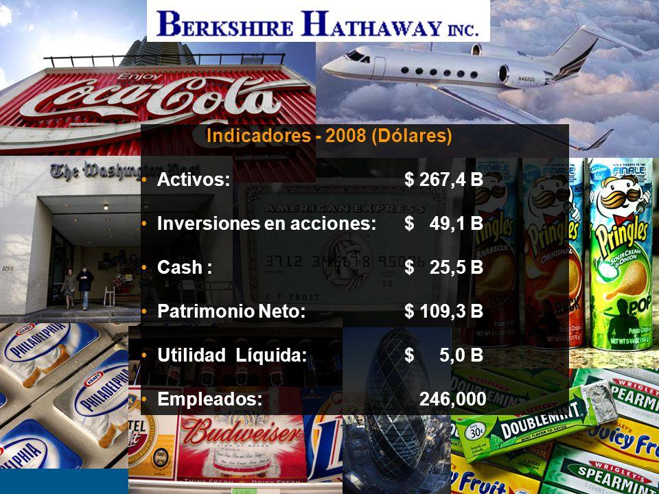Justicia y Seguros - Fort Lauderdale- 06/ 20106 GEICO (Aseguradora de Automotores)$ 12,5 B General Re$ 6,0 B National Indemnity / BHRG$ 5,1 B Berkshire Hathaway Primary Group $ 2,0 B Total$ 25,5 B Operaciones de Seguros y Reaseguros