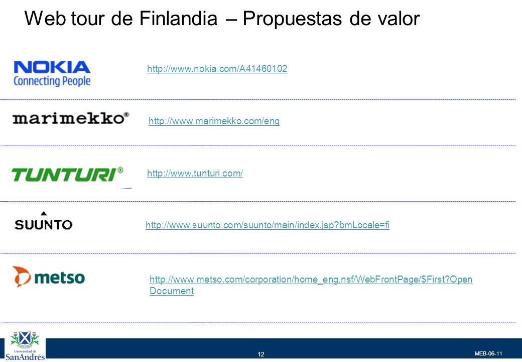 MEB-06-11 12 http://www.marimekko.com/eng Tunturi http://www.tunturi.com/ http://www.suunto.com/suunto/main/index.jsp?bmLocale=fi http://www.metso.com