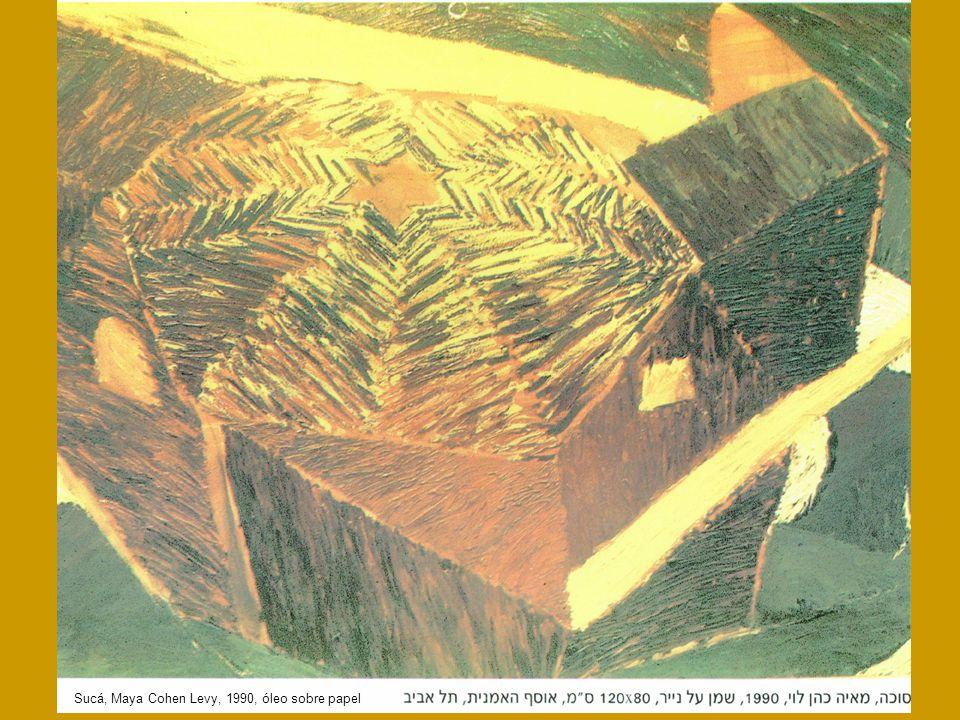 Sjaj, Maya Cohen Levy, 1992, tinta y acuarela sobre papel