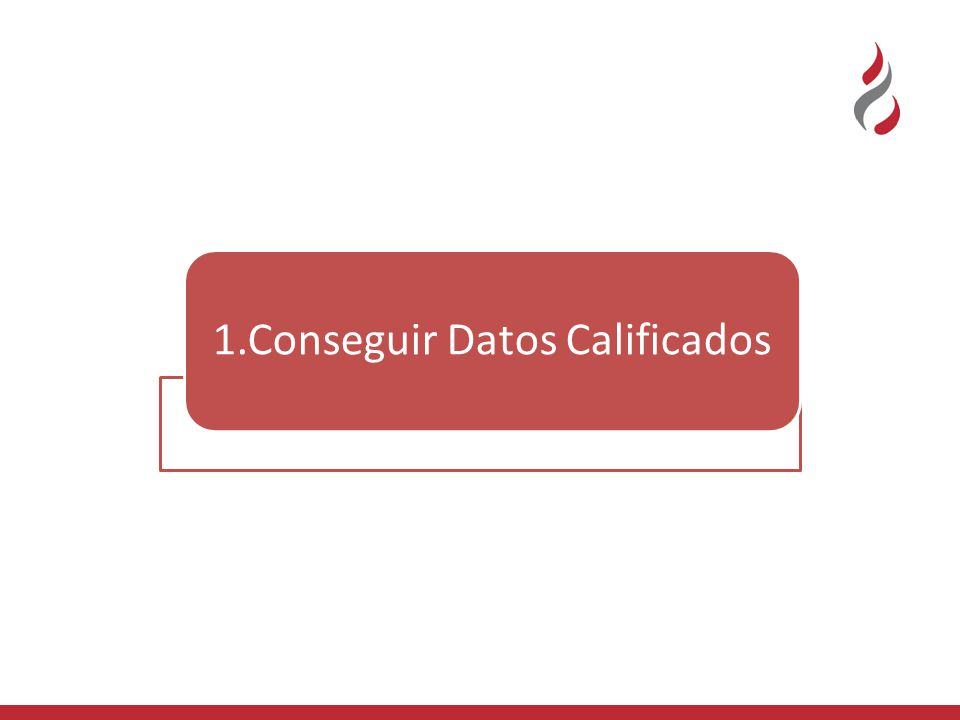 1.Conseguir Datos Calificados