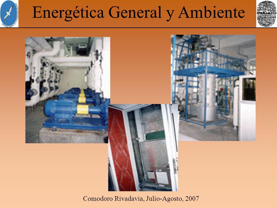 Comodoro Rivadavia, Julio-Agosto, 2007 Energética General y Ambiente Equipos del Proyecto Edificio en Demostrativo China
