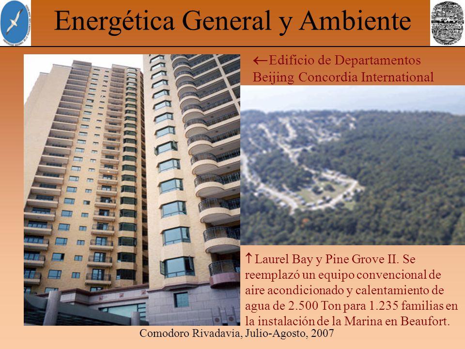 Comodoro Rivadavia, Julio-Agosto, 2007 Energética General y Ambiente Edificio de Departamentos Beijing Concordia International Laurel Bay y Pine Grove II.