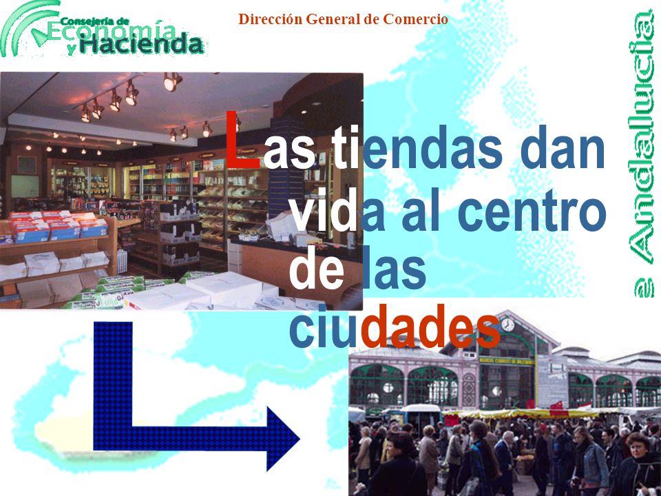 Dirección General de Comercio La Nueva Ciudad GENERA NUEVOS PERFILES URBANOS LA REFORMULACION DE LOS ESPACIOS