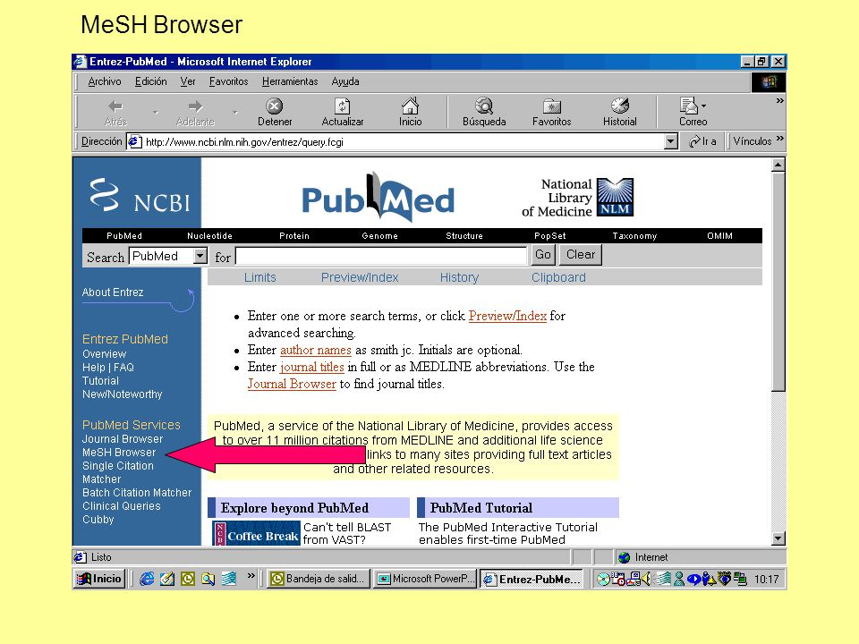 MeSH Browser