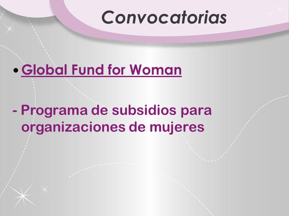 Convocatorias Organizaci ó n de las Naciones Unidas - Fondo de las Naciones Unidas para la Democracia.