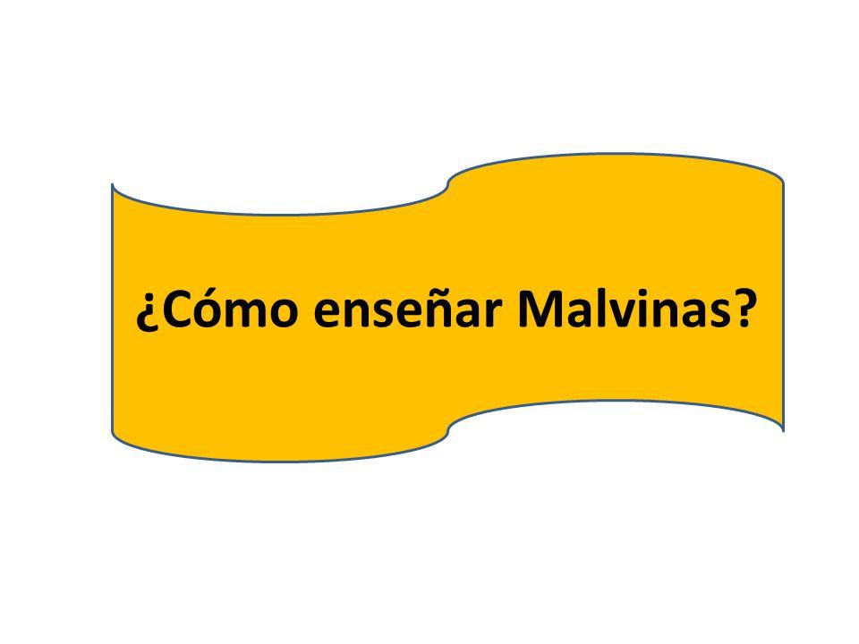 ¿Cómo enseñar Malvinas?