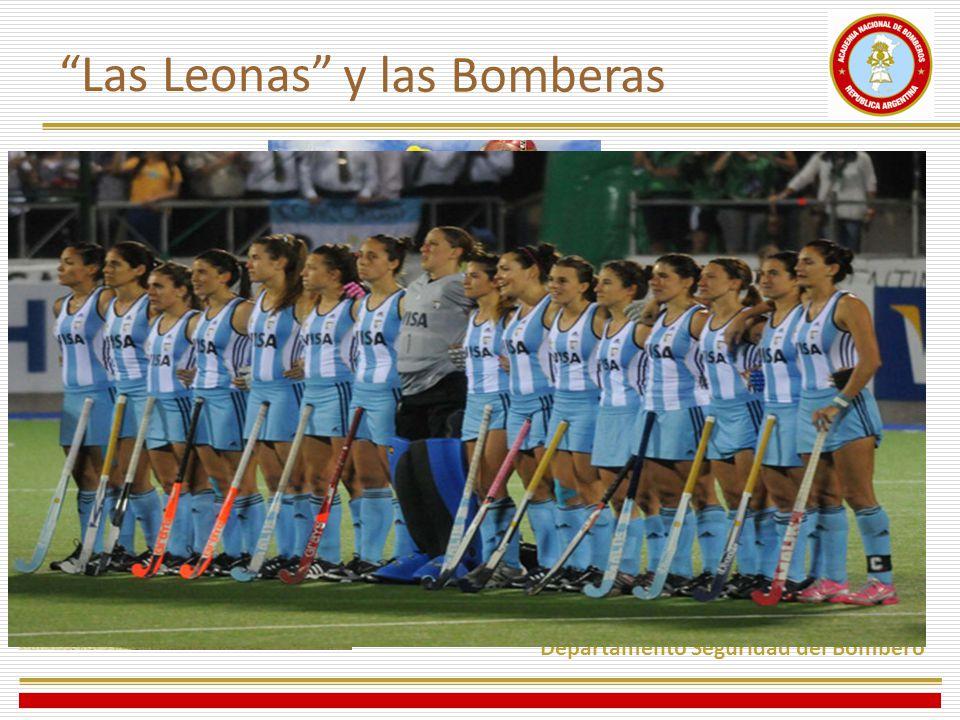 Departamento Seguridad del Bombero Las Leonas y las Bomberas