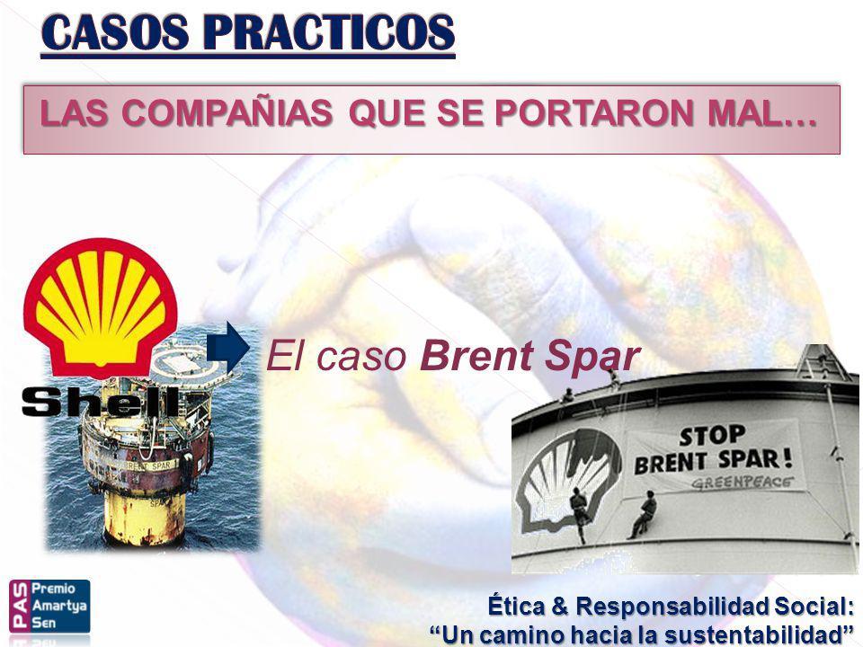 Ética & Responsabilidad Social: Un camino hacia la sustentabilidad LAS COMPAÑIAS QUE SE PORTARON MAL… El caso Brent Spar