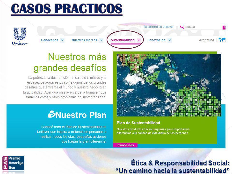 Ética & Responsabilidad Social: Un camino hacia la sustentabilidad +comUNIDADVisión 2010Vivir BienIntegrityProject Sumando Valores