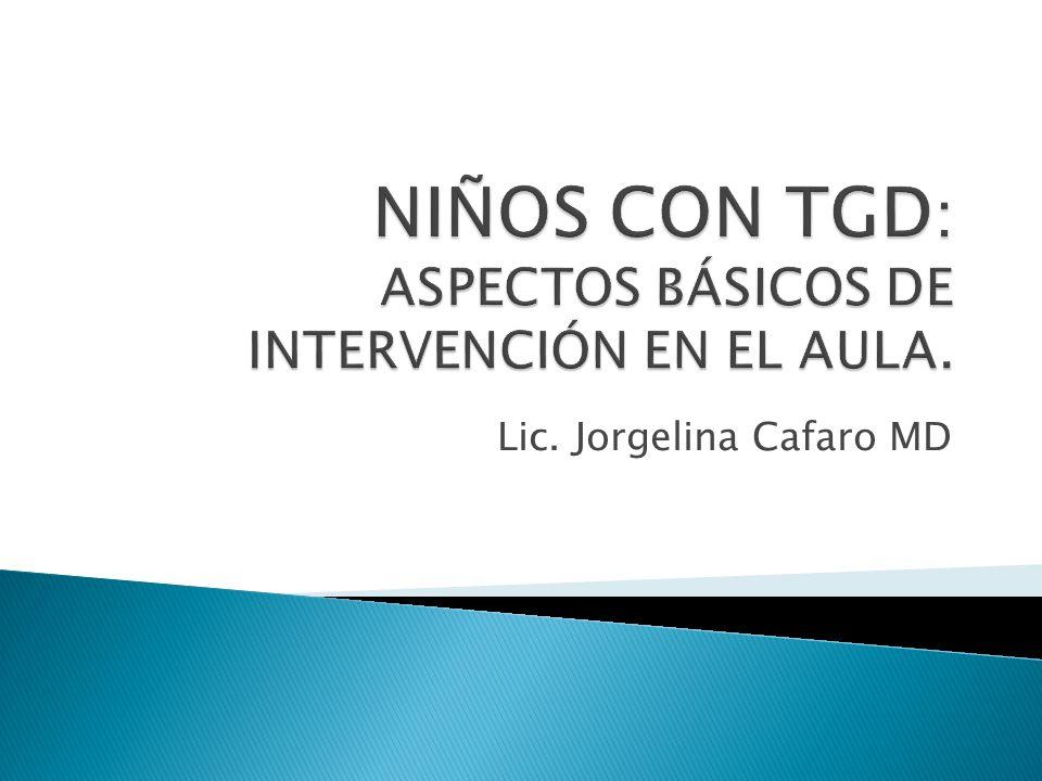 Lic. Jorgelina Cafaro MD