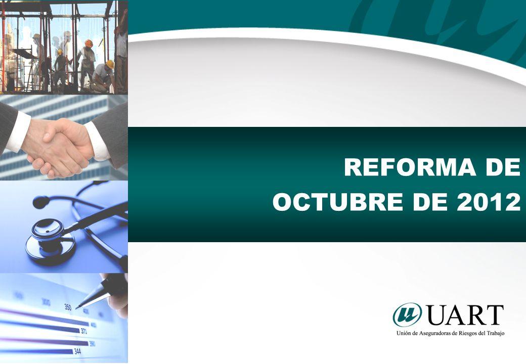 REFORMA DE OCTUBRE DE 2012