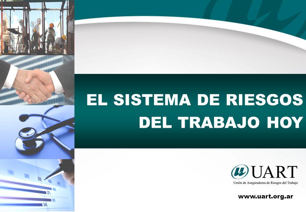 EL SISTEMA DE RIESGOS DEL TRABAJO HOY www.uart.org.ar