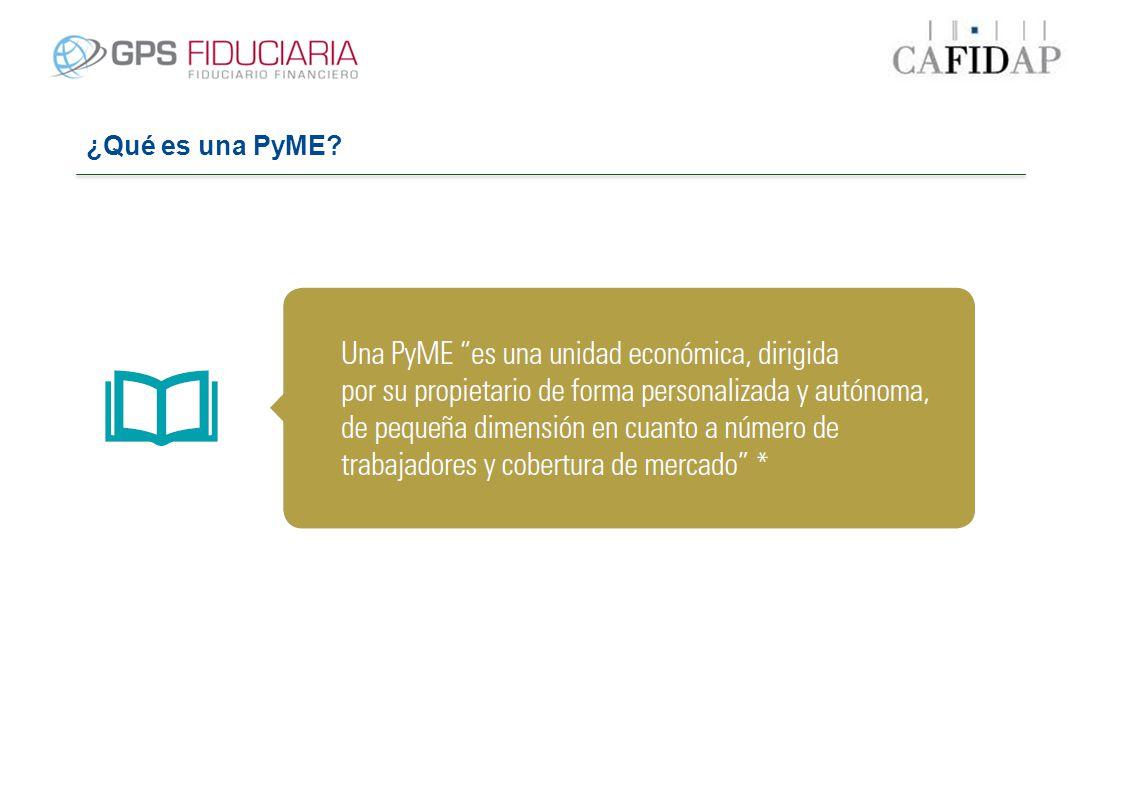 ¿Qué es una PyME?