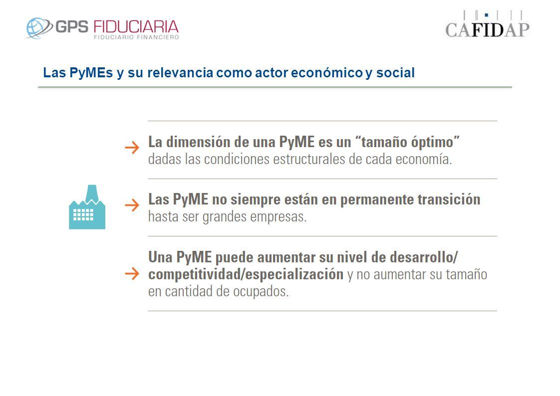 Las PyMEs y su relevancia como actor económico y social