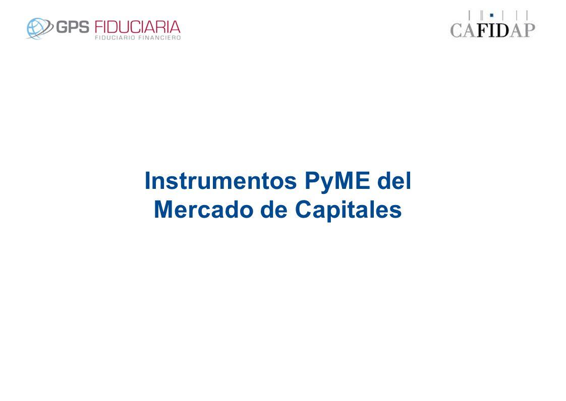 Instrumentos PyME del Mercado de Capitales