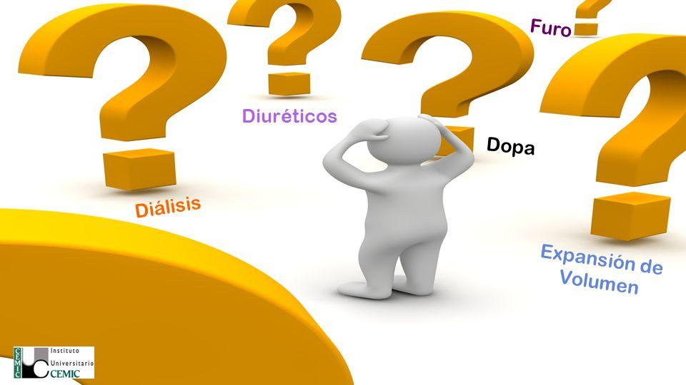 Diuréticos Diálisis Expansión de Volumen Dopa Furo