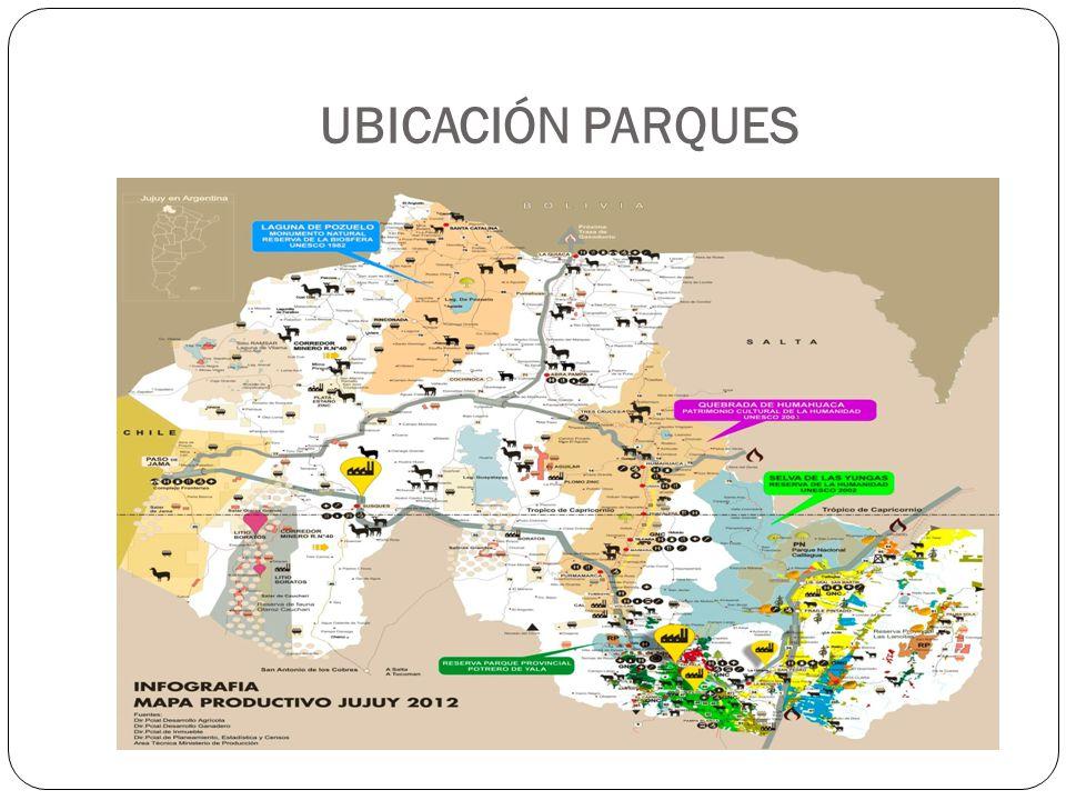 UBICACIÓN PARQUES
