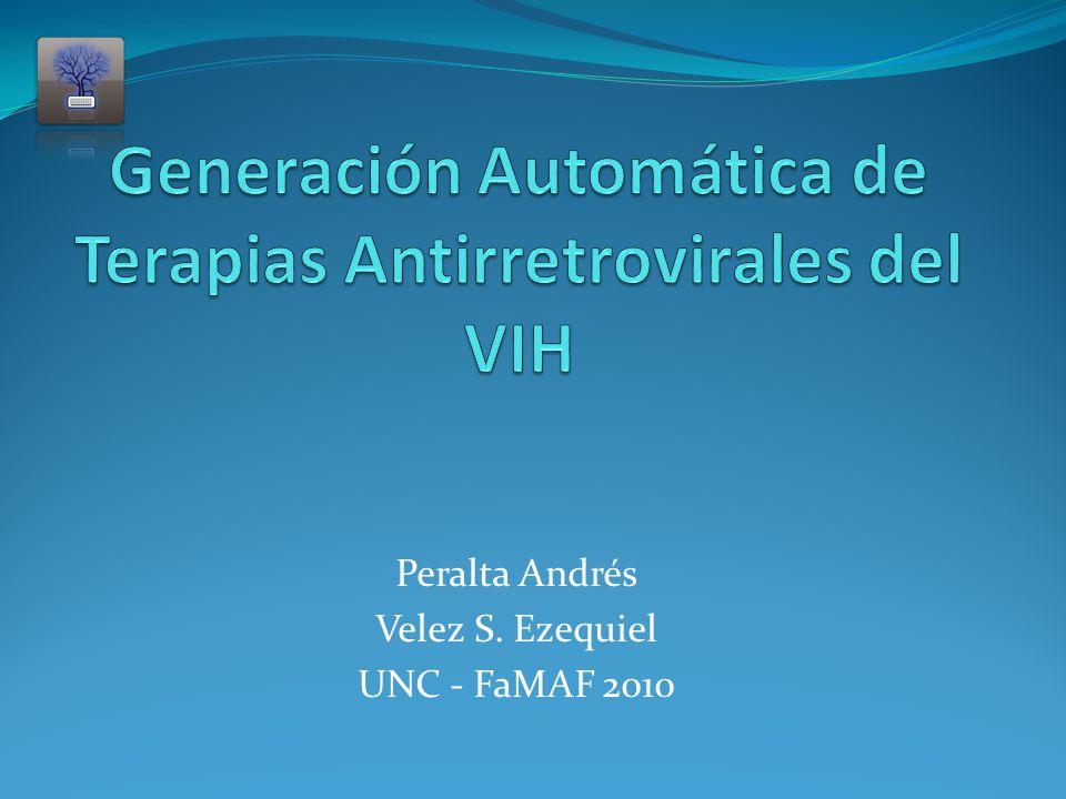 2.5 - Generador de Terapias SEQ SEQ Selector Comb M1M2M3 Fallo Virológico Función de Poda