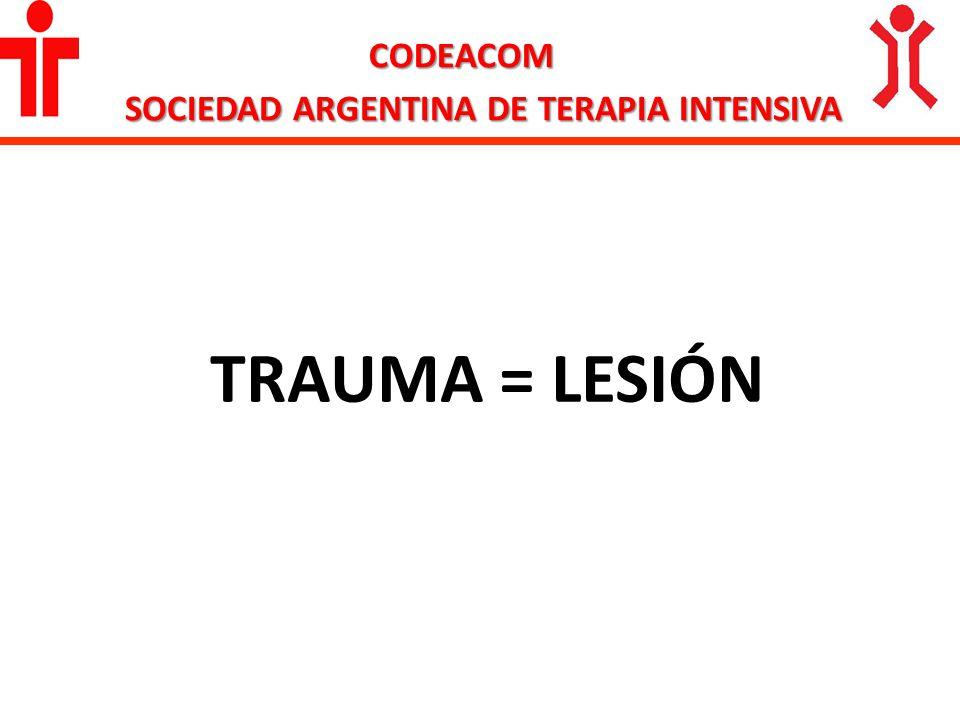 CODEACOM SOCIEDAD ARGENTINA DE TERAPIA INTENSIVA SITUACIONES DE RIESGO VITAL