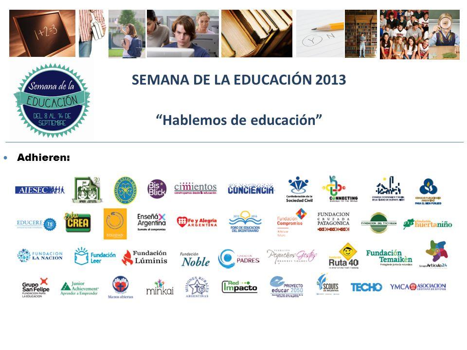V FORO DE CALIDAD EDUCATIVA ARGENTINA EDUCAR MEJOR ES URGENTE Novedades 2013: c) Crecimiento de REDUCA www.reduca-al.net