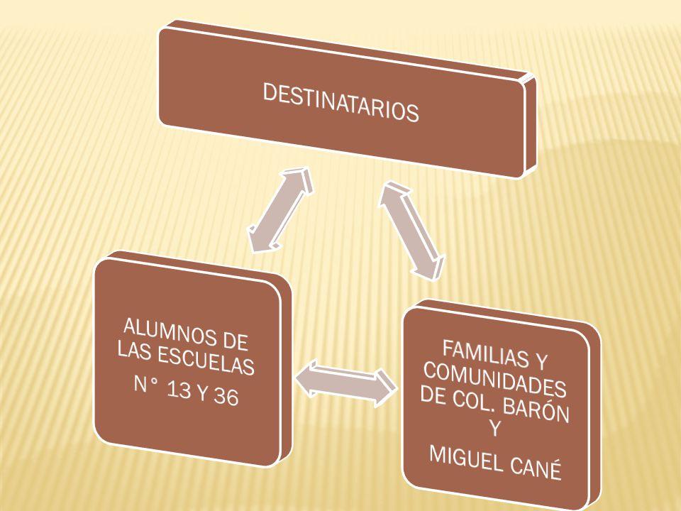 CHICOS ESCUELAS 13 Y 36 LA PAMPA