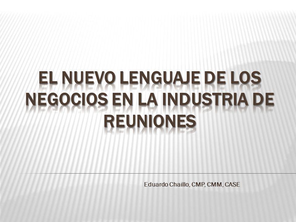 Eduardo Chaillo, CMP, CMM, CASE