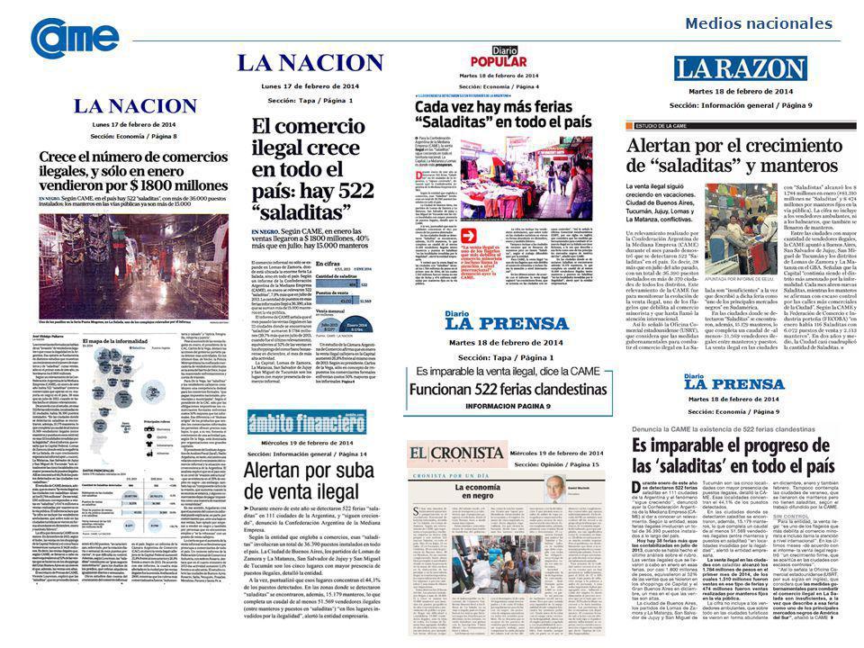 Medios nacionales