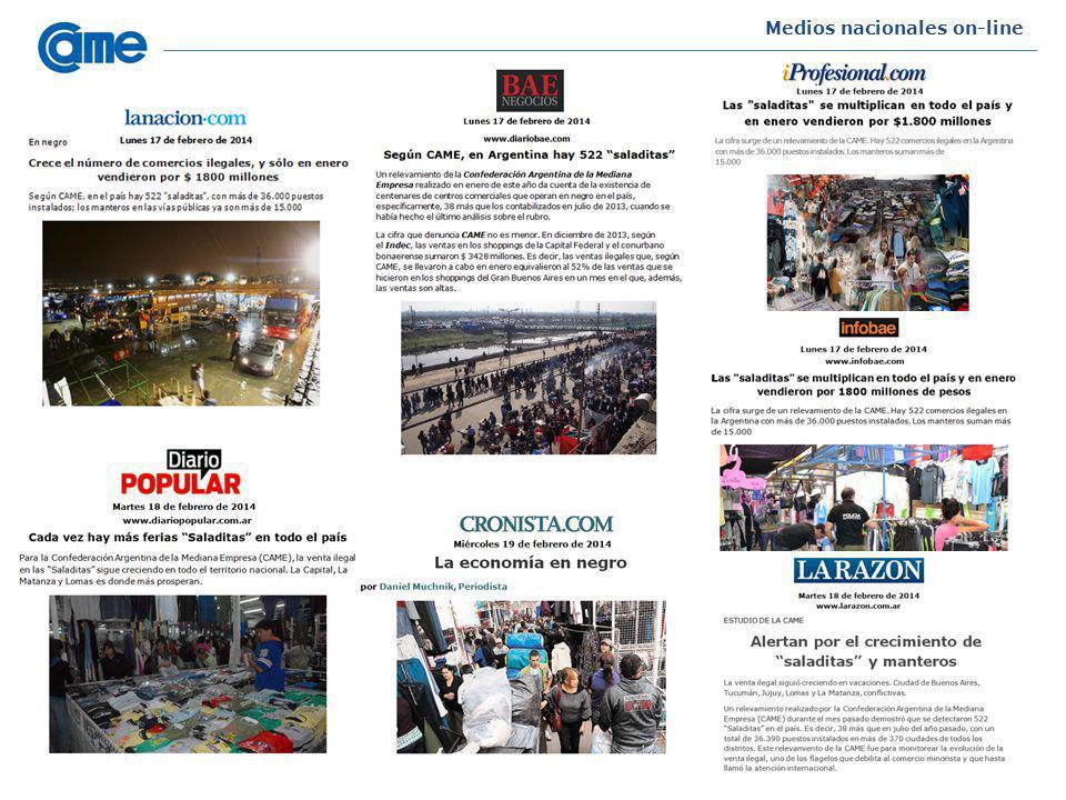 Medios nacionales on-line